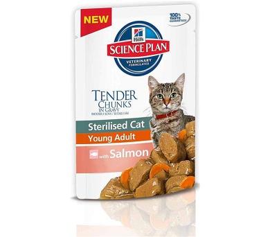 Hill's Feline Sterilised kaps. Salmon 85 g