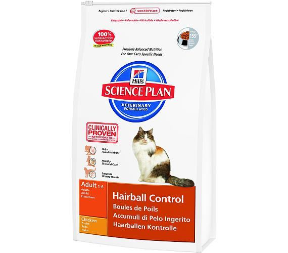 Hill's Feline Adult Hairball control 1,5 kg