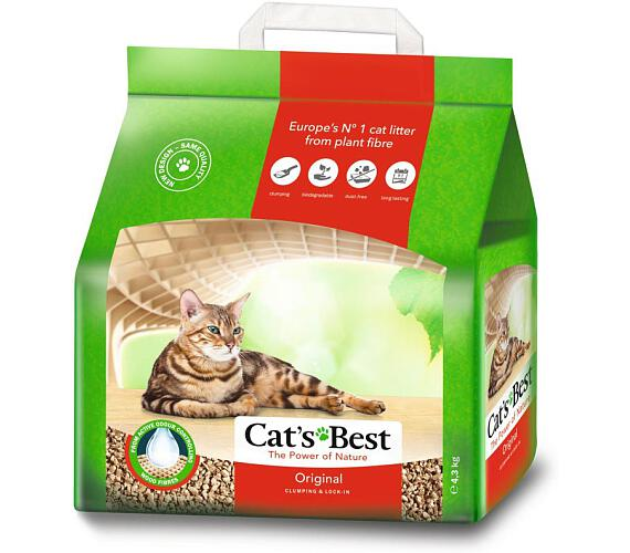 Podestýlka Cat Best Öko Plus 10 l