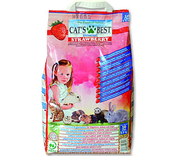 Podestýlka Cat Best Universal jahoda 10 l