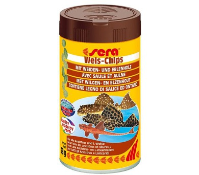 Sera Wels Chips ancitrus a sumečci tablety 100 ml