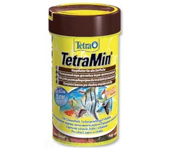 Tetra Min okrasné ryby vločky 20 g / 100 ml
