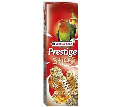 VL Prestige tyč stř. papoušek - oříšky a med 2 ks