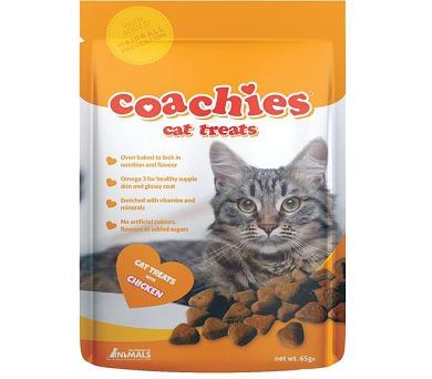 Coachies pamlsek pro kočku - kuřecí 65 g
