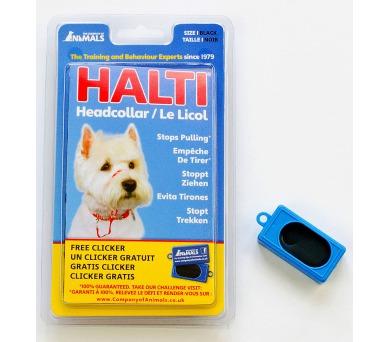 Halti + Clicker vel. 1 - westík