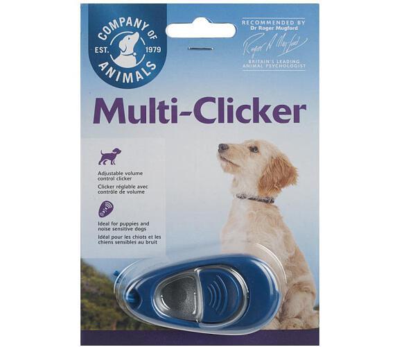 Tréninkový Clicker multifunkční Clix 1 ks