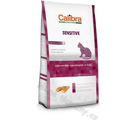 Calibra Cat GF Sensitive Salmon NOVÝ 2 kg