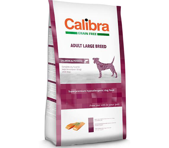 Calibra Dog GF Adult Large Breed Salmon NOVÝ 2 kg