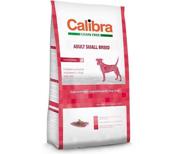 Calibra Dog GF Adult Small Breed Duck NOVÝ 2 kg