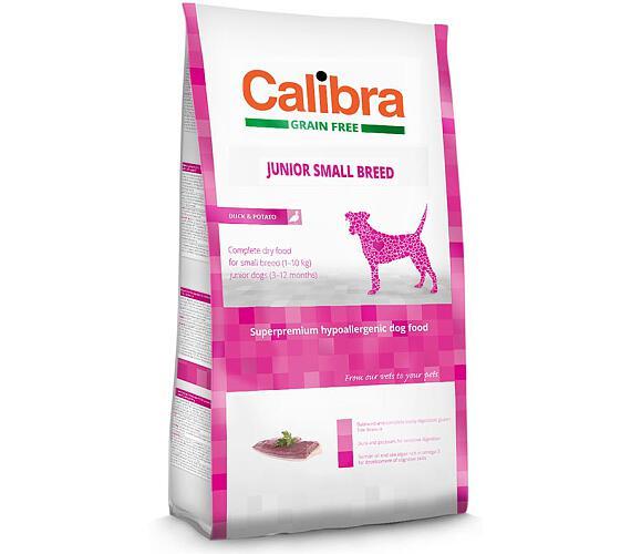 Calibra Dog GF Junior Small Breed Duck NOVÝ 2 kg