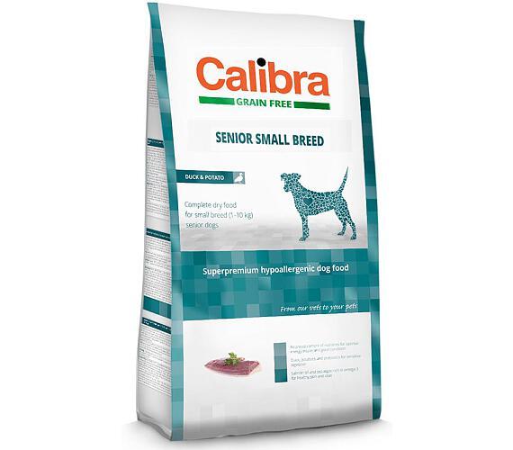 CALIBRA Dog GF Senior Small Breed Duck NOVÝ 2 kg