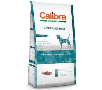 Calibra Dog GF Senior Small Breed Duck NOVÝ 7 kg