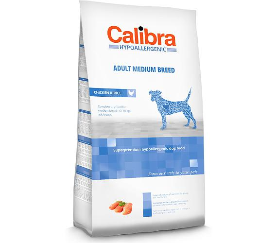 Calibra Dog HA Adult Medium Breed Chicken NOVÝ 3 kg