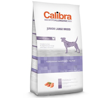Calibra Dog HA Junior Large Breed Chicken NOVÝ 14 kg