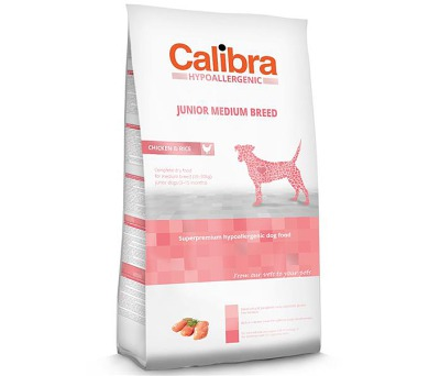 Calibra Dog HA Junior Medium Breed Chicken NOVÝ 14 kg