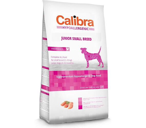 Calibra Dog HA Junior Small Breed Chichen NOVÝ 2 kg