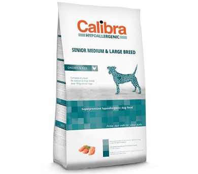 Calibra Dog HA Senior Medium & Large Chicken NOVÝ 14 kg