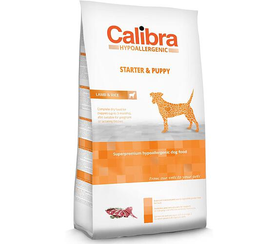 Calibra Dog HA Starter & Puppy Lamb NOVÝ 3 kg