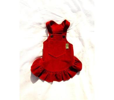 """Obleček - Sukně """"Country"""" červená VC 24 cm"""