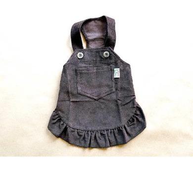 """Obleček - Sukně """"Country"""" tmavě hnědá VC 32 cm"""