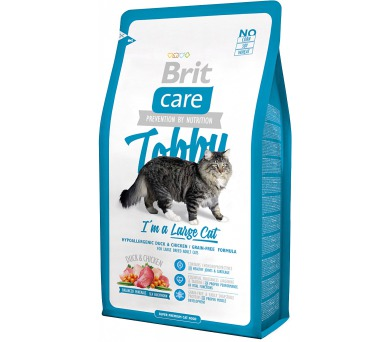 Brit Care Cat Tobby I´m a Large 2 kg