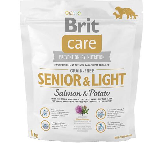 Brit Care Grain Free Dog Senior&Light S & P 1 kg