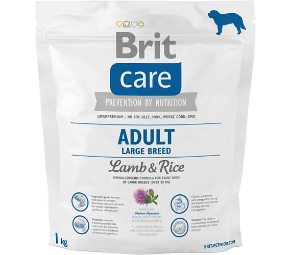 Brit Care Dog Adult Large Breed Lamb & Rice NOVÝ 1 kg