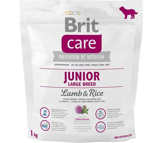 Brit Care Dog Junior Large Breed Lamb & Rice NOVÝ 1 kg