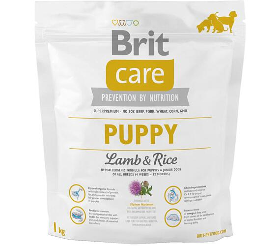Brit Care Dog Puppy Lamb & Rice NOVÝ 1 kg