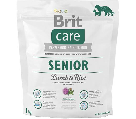 Brit Care Dog Senior Lamb & Rice NOVÝ 1 kg