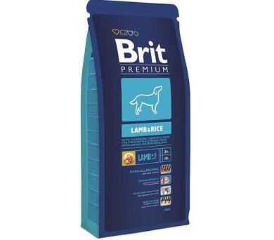 Brit Premium Dog Lamb & Rice 3 kg