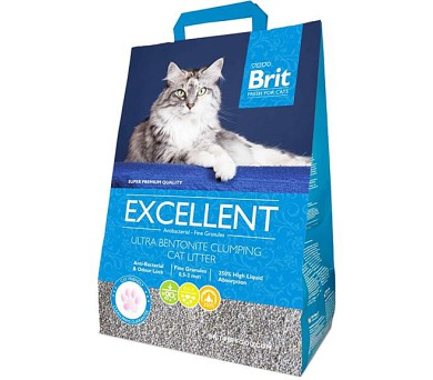 Podestýlka Cat Brit Fresh Excellent Ultra Bent. 10 kg
