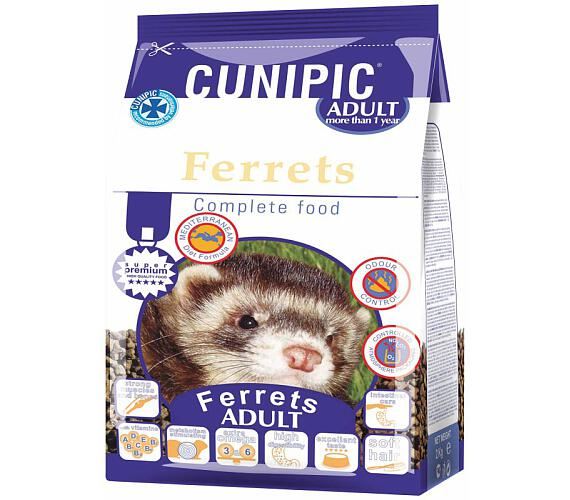 Cunipic Ferrets Adult - fretka dospělá 2 kg
