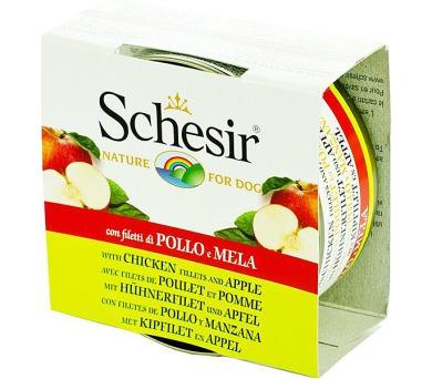 Schesir dog konz. kuřecí s jablkem 150 g