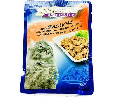 Stuzzy cat kaps. losos 100 g