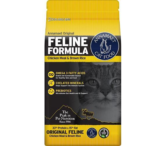 Annamaet Feline Chicken & Fish (kočka) 5,44 kg (12lb) + DOPRAVA ZDARMA