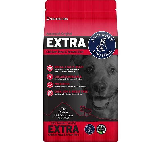 Annamaet EXTRA 26% 18,14 kg (40lb) + DOPRAVA ZDARMA