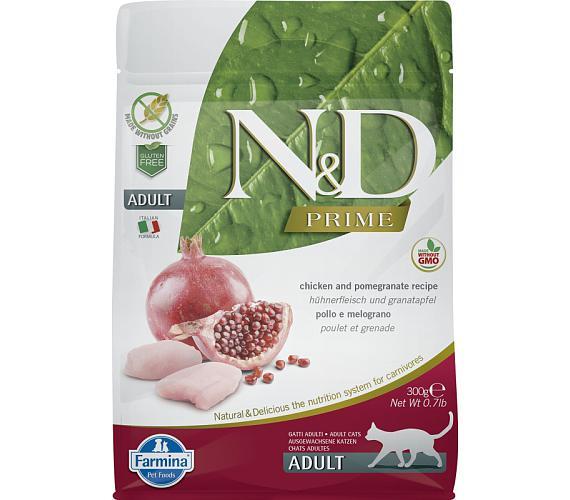 N&D PRIME Cat Adult Chicken & Pomegranate 0,3 kg
