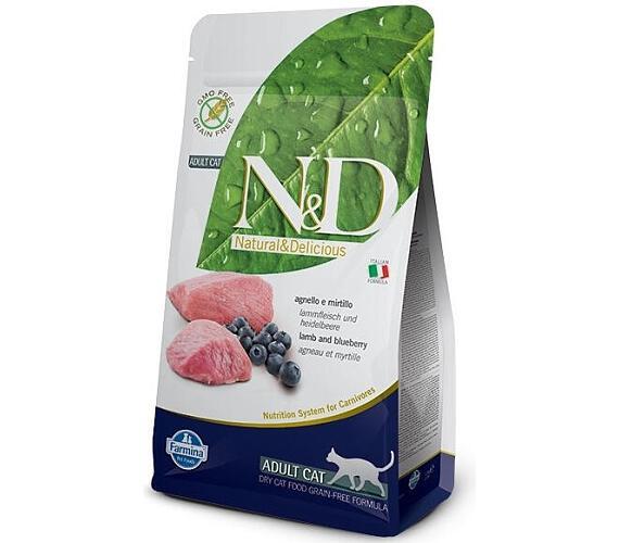 N&D PRIME Cat Adult Lamb & Blueberry 0,3 kg