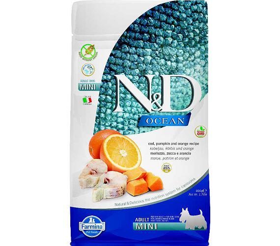 N&D Grain Free Dog Adult Mini Pumpkin Codfish & O 800 g