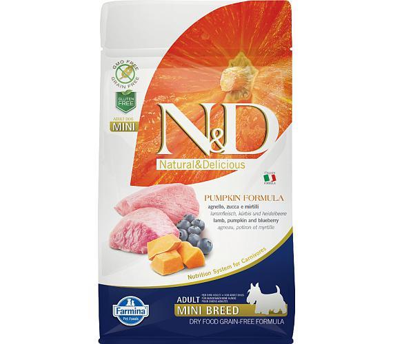 N&D Grain Free Dog Adult Mini Pumpkin Lamb & Blueb 800 g