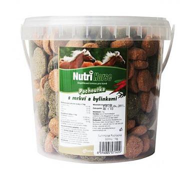 Nutri Horse Pochoutka s mrkví a bylinkami 1 kg