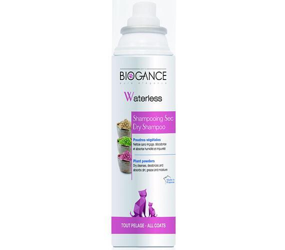Biogance Waterless cat - suchý šampon pro kočky 150 ml