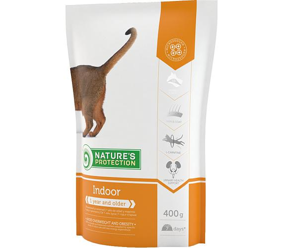 Nature's Protection Cat Dry Indoor 400 g
