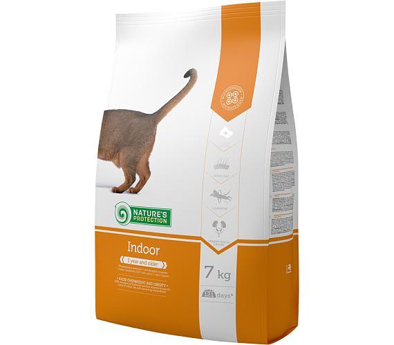 Nature's Protection Cat Dry Indoor 7 kg + DOPRAVA ZDARMA