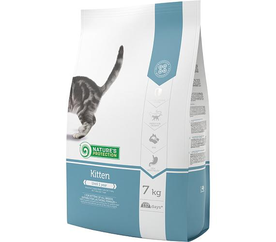 Nature's Protection Cat Dry Kitten 7 kg + DOPRAVA ZDARMA