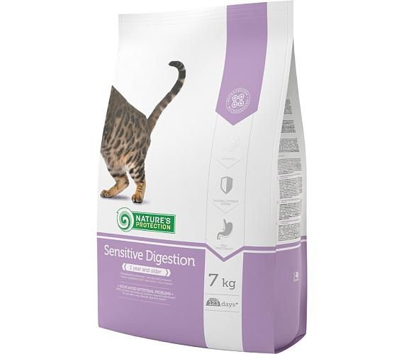 Nature's Protection Cat Dry Sensitive Digestion 7 kg + DOPRAVA ZDARMA