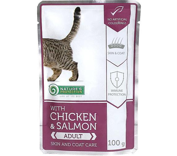 Nature's Protection Cat kaps. Skin & Coat Care 100g