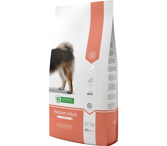 Nature's Protection Dog Dry Adult Medium 12 kg + DOPRAVA ZDARMA