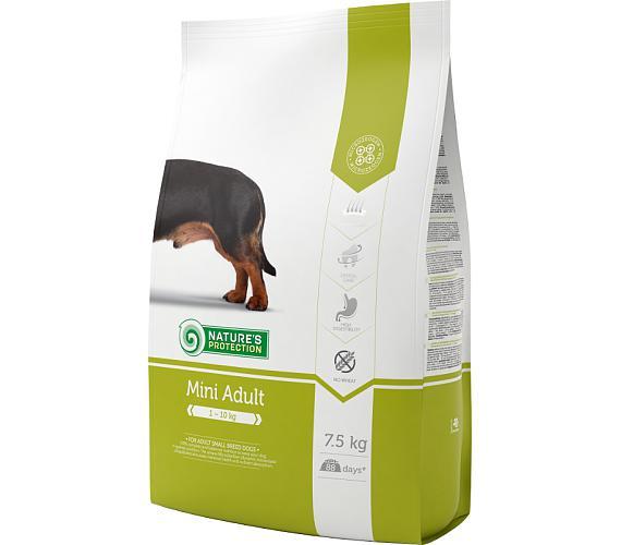 Nature's Protection Dog Dry Adult Mini 7,5 kg + DOPRAVA ZDARMA